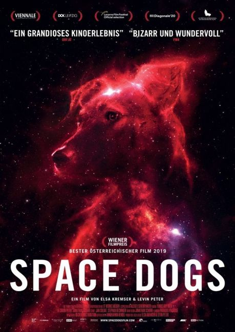 Plakat SPACE DOGS